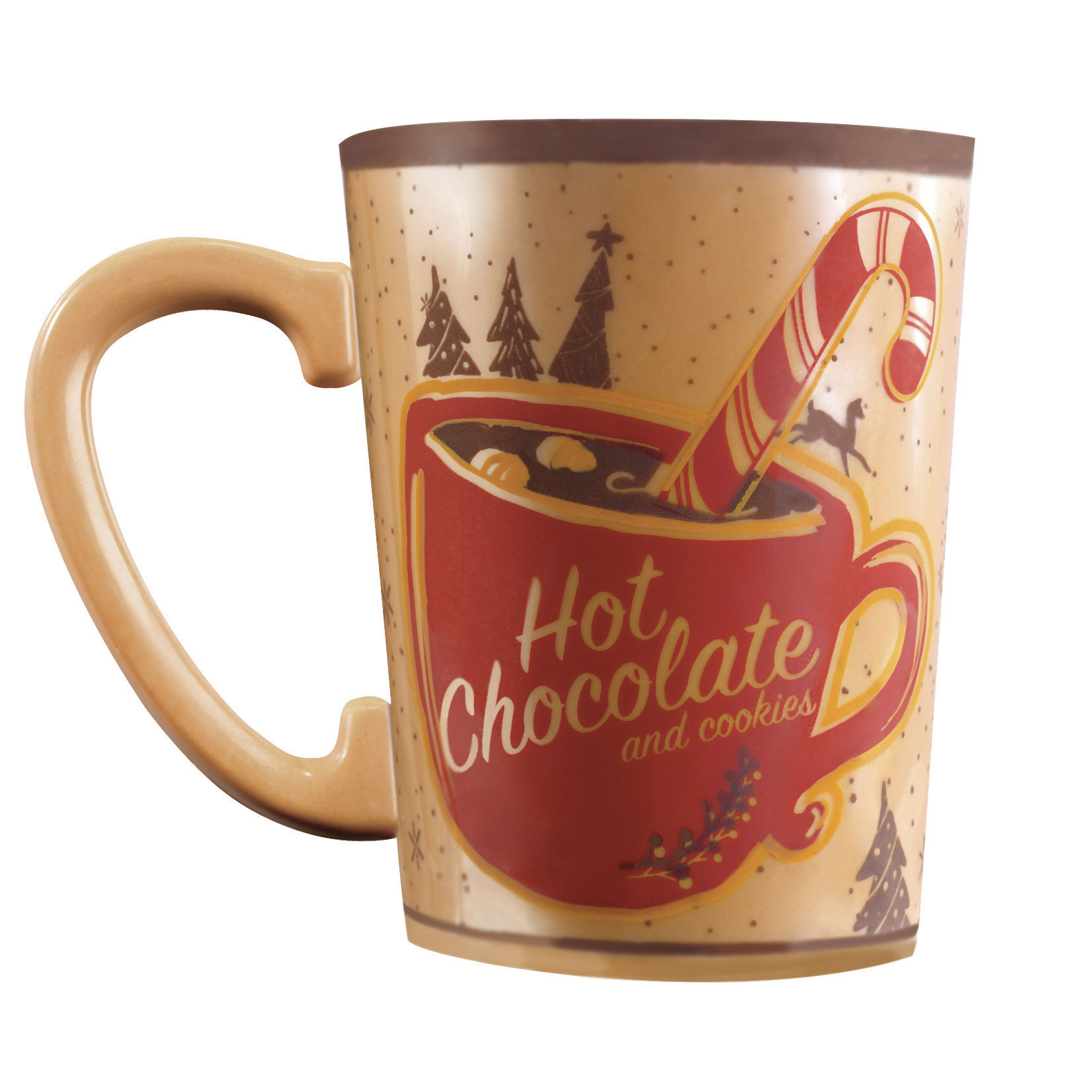 Transfervellen voor mokken hot chocolate